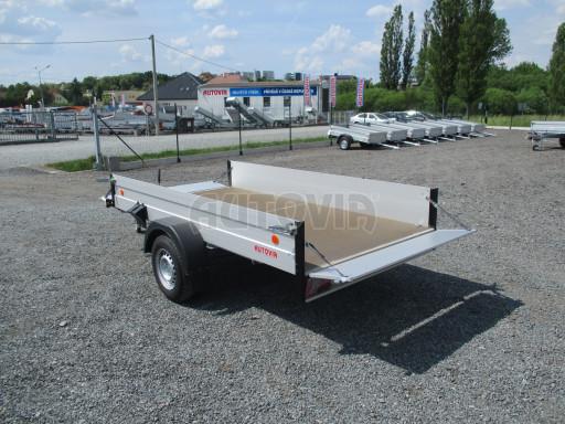 Přívěsný vozík za os. auto ZV 31 ALU 1,3T B1 3,00x1,55/0,35 POČ* č.10