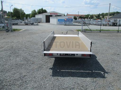Přívěsný vozík za os. auto ZV 31 ALU 1,3T B1 3,00x1,55/0,35 POČ* č.11