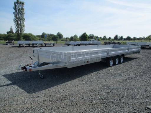 Třínápravový nákladní přívěs DN 3,5T B3 8,60x2,47/0,35*1350 č.1