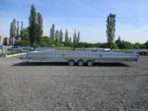 Třínápravový nákladní přívěs DN 3,5T B3 8,60x2,47/0,35*1350 č.6