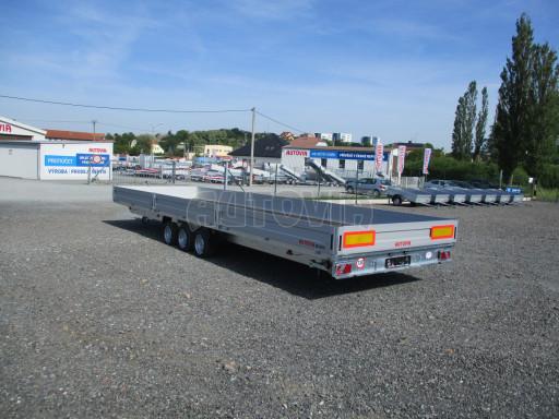Třínápravový nákladní přívěs DN 3,5T B3 8,60x2,47/0,35*1350 č.2