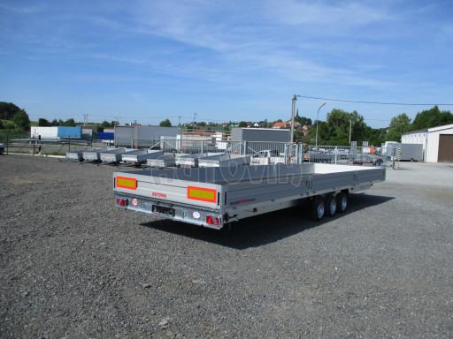 Třínápravový nákladní přívěs DN 3,5T B3 8,60x2,47/0,35*1350 č.8