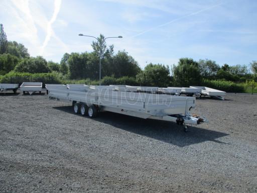 Třínápravový nákladní přívěs DN 3,5T B3 8,60x2,47/0,35*1350 č.3
