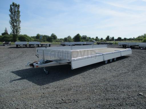 Třínápravový nákladní přívěs DN 3,5T B3 8,60x2,47/0,35*1350 č.4