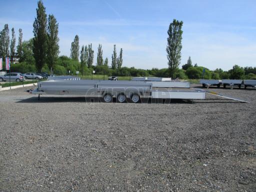 Třínápravový nákladní přívěs DN 3,5T B3 8,60x2,47/0,35*1350 č.14