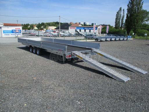 Třínápravový nákladní přívěs DN 3,5T B3 8,60x2,47/0,35*1350 č.15