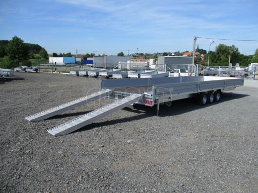 Třínápravový nákladní přívěs DN 3,5T B3 8,60x2,47/0,35*1350 č.17