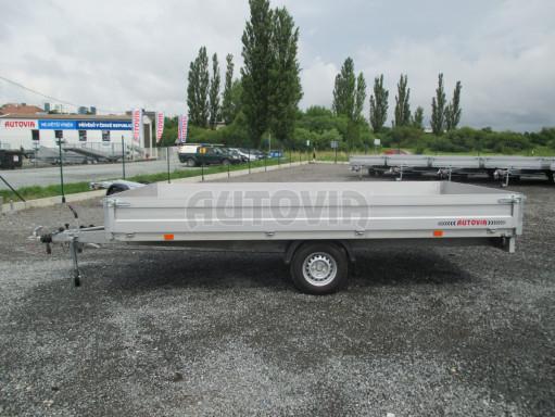Bazarový jednonápravový vozík ZV 41 1,3T B1 4,17x2,00/0,35 13