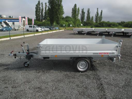 Sklápěcí přívěsný vozík - RK 1,5T 2,57x1,51/0,35 č.4