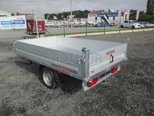 Sklápěcí přívěsný vozík - RK 1,5T 2,57x1,51/0,35 č.5