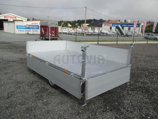 Sklápěcí přívěsný vozík - RK 1,5T 2,57x1,51/0,35 č.12