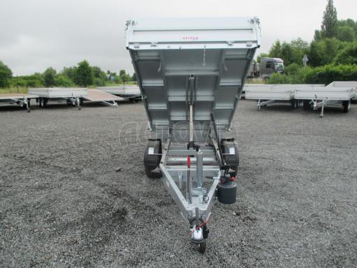 Sklápěcí přívěsný vozík - RK 1,5T 2,57x1,51/0,35 č.14
