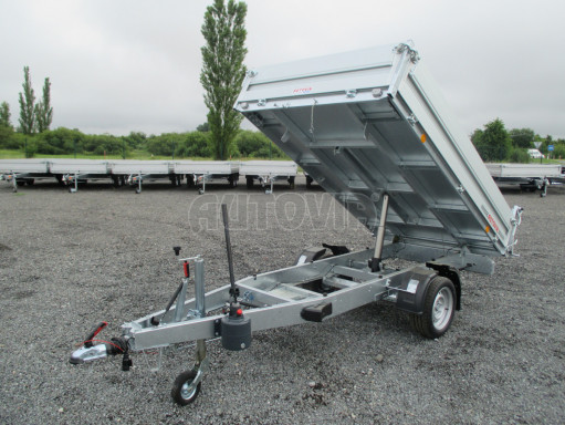 Sklápěcí přívěsný vozík - RK 1,5T 2,57x1,51/0,35 č.15