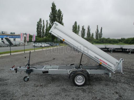 Sklápěcí přívěsný vozík - RK 1,5T 2,57x1,51/0,35 č.16