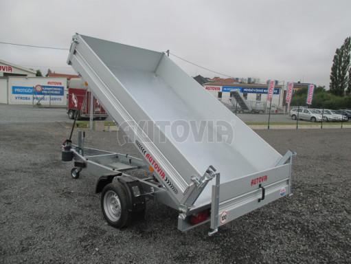 Sklápěcí přívěsný vozík - RK 1,5T 2,57x1,51/0,35 č.17