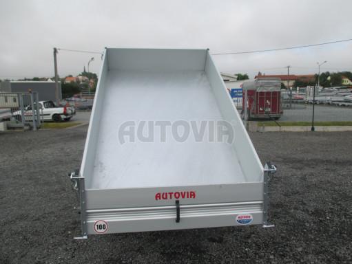 Sklápěcí přívěsný vozík - RK 1,5T 2,57x1,51/0,35 č.18