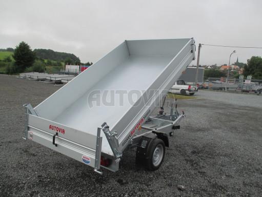 Sklápěcí přívěsný vozík - RK 1,5T 2,57x1,51/0,35 č.19