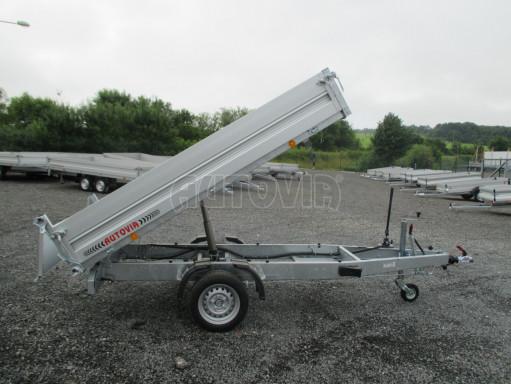 Sklápěcí přívěsný vozík - RK 1,5T 2,57x1,51/0,35 č.20