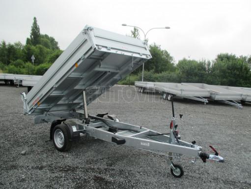Sklápěcí přívěsný vozík - RK 1,5T 2,57x1,51/0,35 č.1