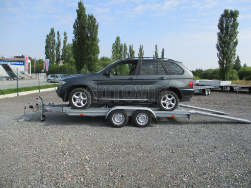 Přívěs pro přepravu aut PM 2,7T 3,95x2,00* č.2