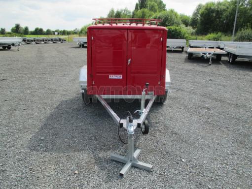 Nebrzděný podvozek pod hasičskou skříň PS 12, VA 750kg 2,06x1,27 zes. náprava č.10