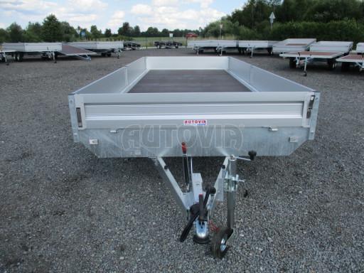 Přívěsný vozík v provedení valník VER 2,7T 5,03x2,06/0,30 č.9