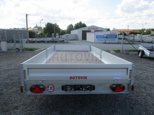 Přívěsný vozík v provedení valník VER 2,7T 5,03x2,06/0,30 č.5