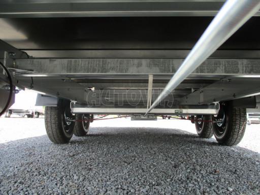 Přívěsný vozík v provedení valník VER 2,7T 5,03x2,06/0,30 č.12