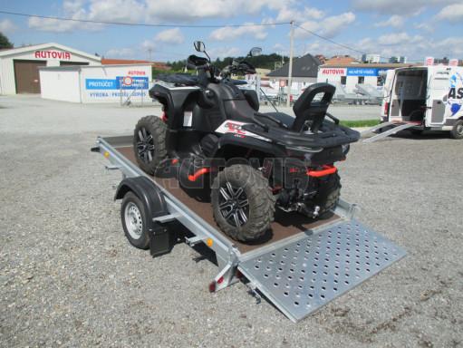 Sklápěcí přívěs na převoz čtyřkolek, mechanizace PZ SK 750kg 2,51x1,65* č.3