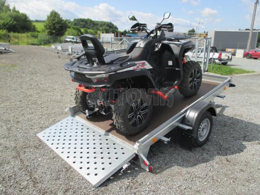 Sklápěcí přívěs na převoz čtyřkolek, mechanizace PZ SK 750kg 2,51x1,65* č.5