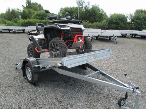Sklápěcí přívěs na převoz čtyřkolek, mechanizace PZ SK 750kg 2,51x1,65* č.7