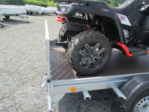 Sklápěcí přívěs na převoz čtyřkolek, mechanizace PZ SK 750kg 2,51x1,65* č.18