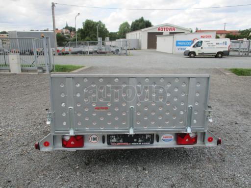 Sklápěcí přívěs na převoz čtyřkolek, mechanizace PZ SK 750kg 2,51x1,65* č.25