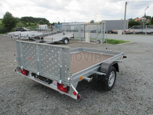 Sklápěcí přívěs na převoz čtyřkolek, mechanizace PZ SK 750kg 2,51x1,65* č.26