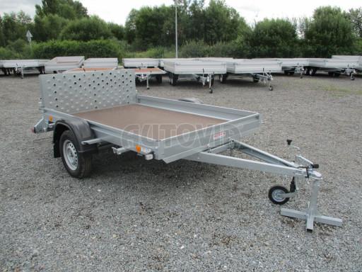 Sklápěcí přívěs na převoz čtyřkolek, mechanizace PZ SK 750kg 2,51x1,65* č.28