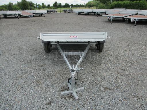 Sklápěcí přívěs na převoz čtyřkolek, mechanizace PZ SK 750kg 2,51x1,65* č.29