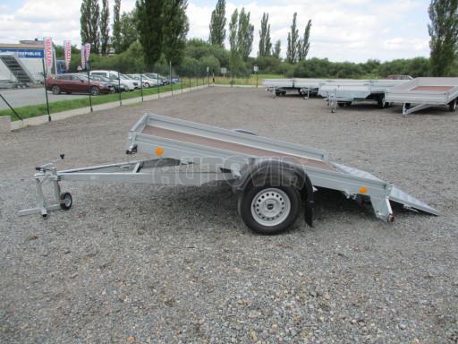 Sklápěcí přívěs na převoz čtyřkolek, mechanizace PZ SK 750kg 2,51x1,65* č.31