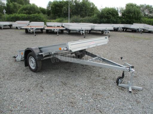 Sklápěcí přívěs na převoz čtyřkolek, mechanizace PZ SK 750kg 2,51x1,65* č.36