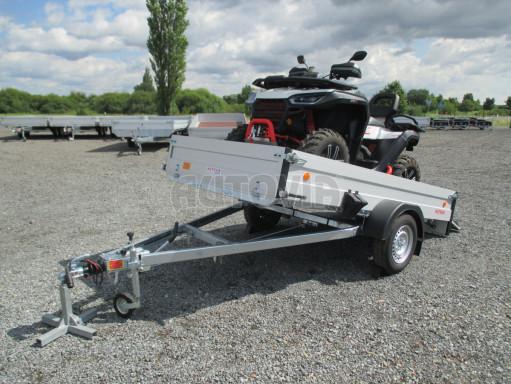 Sklopný přívěsný vozík ZV 31 ALU 1,3T B1 skl 3,00x1,55/0,35 POČ* č.1