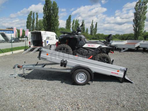 Sklopný přívěsný vozík ZV 31 ALU 1,3T B1 skl 3,00x1,55/0,35 POČ* č.2