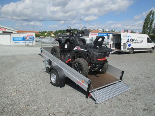 Sklopný přívěsný vozík ZV 31 ALU 1,3T B1 skl 3,00x1,55/0,35 POČ* č.3