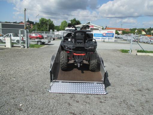 Sklopný přívěsný vozík ZV 31 ALU 1,3T B1 skl 3,00x1,55/0,35 POČ* č.4