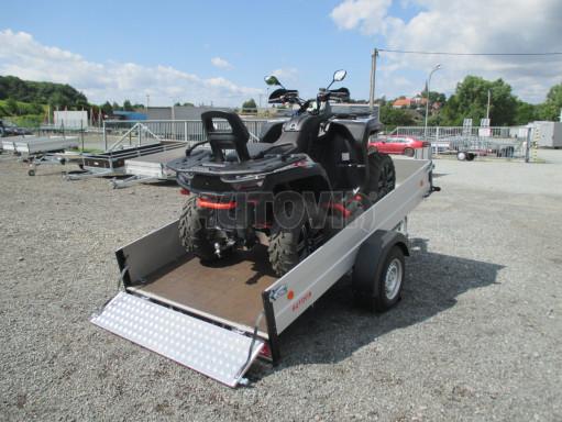 Sklopný přívěsný vozík ZV 31 ALU 1,3T B1 skl 3,00x1,55/0,35 POČ* č.5