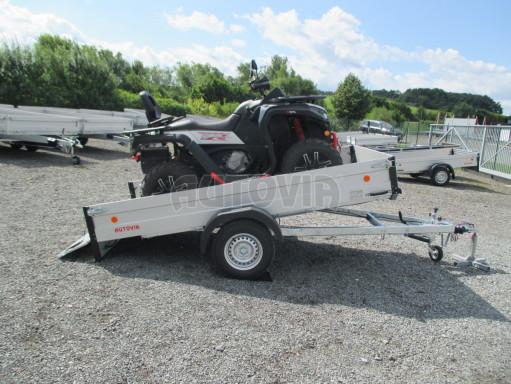 Sklopný přívěsný vozík ZV 31 ALU 1,3T B1 skl 3,00x1,55/0,35 POČ* č.6