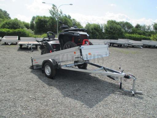 Sklopný přívěsný vozík ZV 31 ALU 1,3T B1 skl 3,00x1,55/0,35 POČ* č.7