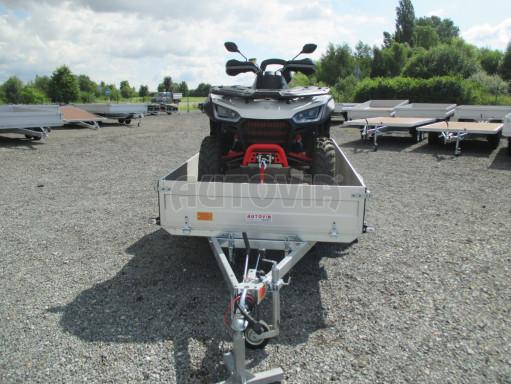 Sklopný přívěsný vozík ZV 31 ALU 1,3T B1 skl 3,00x1,55/0,35 POČ* č.8