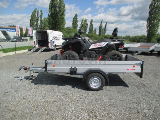 Sklopný přívěsný vozík ZV 31 ALU 1,3T B1 skl 3,00x1,55/0,35 POČ* č.10