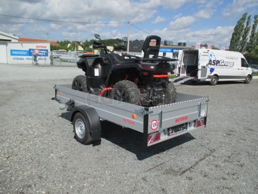 Sklopný přívěsný vozík ZV 31 ALU 1,3T B1 skl 3,00x1,55/0,35 POČ* č.11
