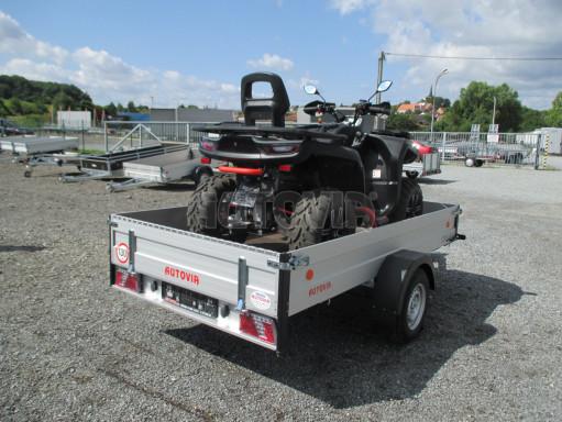 Sklopný přívěsný vozík ZV 31 ALU 1,3T B1 skl 3,00x1,55/0,35 POČ* č.13