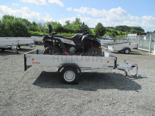 Sklopný přívěsný vozík ZV 31 ALU 1,3T B1 skl 3,00x1,55/0,35 POČ* č.14